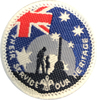 2017 Their Service Our Heritage Badges
