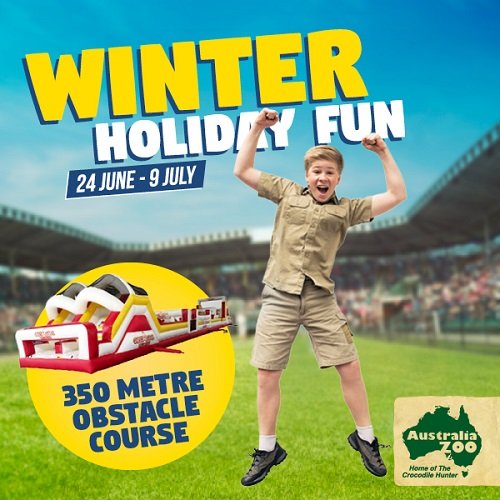 Visit Australia Zoo and Scouts during the upcoming holidays